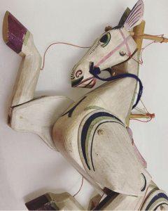 Horse Puppet at Jarrow Hall