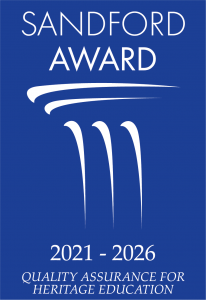 2021 winners of Sandford Award,  Quality Assurance for Museum Education